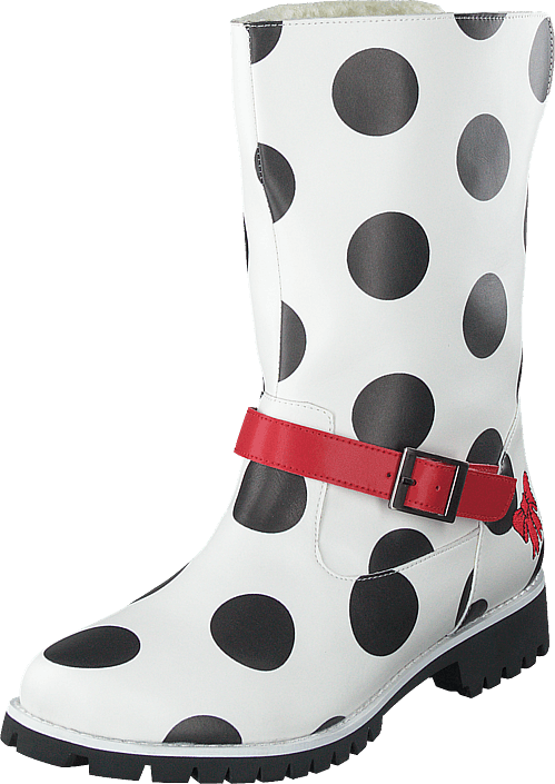 Lola Ramona - Shelly Enjoy Vegan White/dots