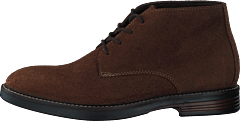 Paulson Mid Dark Brown Suede