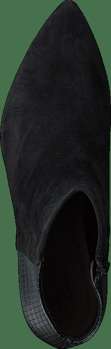 Kjøp Clarks Linvale Sea Black Suede/croc Synth Combi Sko Online