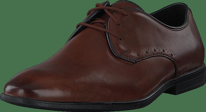 Clarks - Bampton Park British Tan Leather