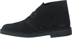 Desert Boot2 Black Suede