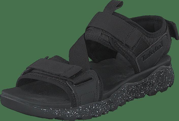 Timberland - Ripcord 2 Strap Sandal Jet Black