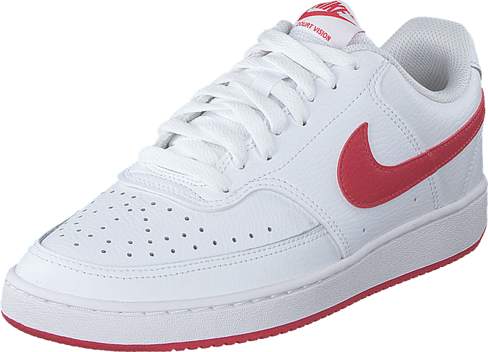 Nike - Wmns Court Vision Low White/university Red-white
