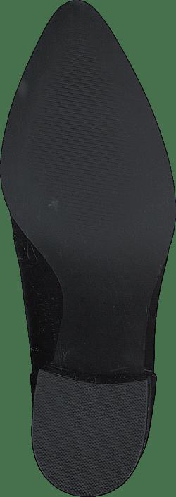 Jillian Black Leather