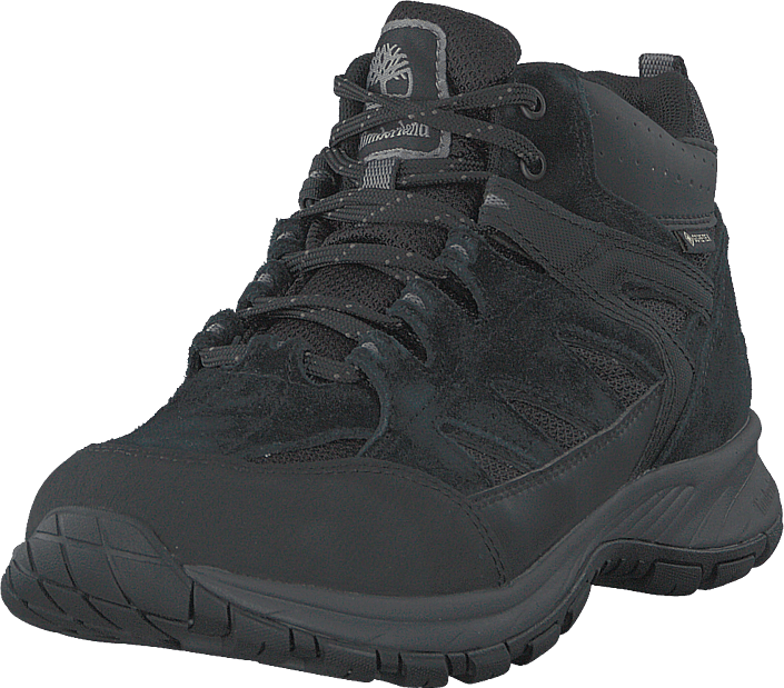 Sadler Pass Gtx Black Suede