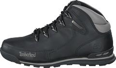 Euro Rock Hiker Black Full Grain
