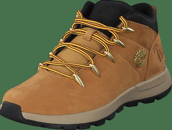 Timberland - Sprint Trekker Mid Wheat Nubuck