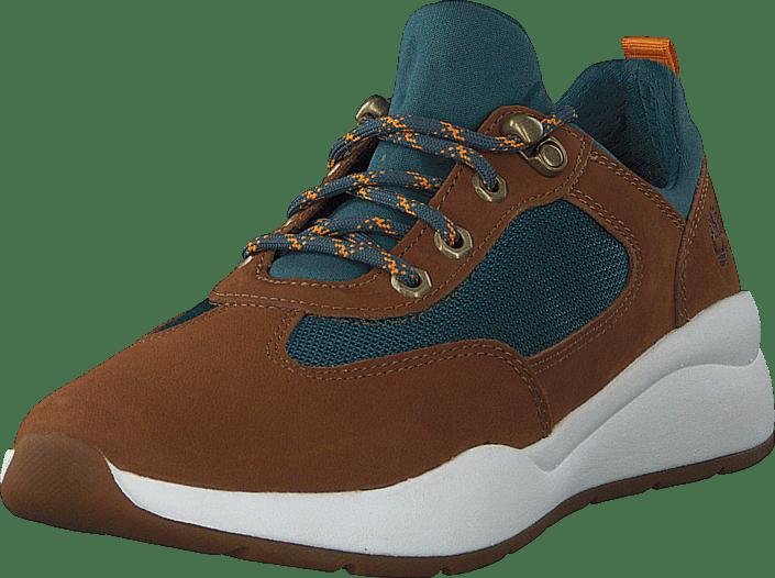 Timberland - Boroughs Low Sneaker Hkr Rust Nubuck
