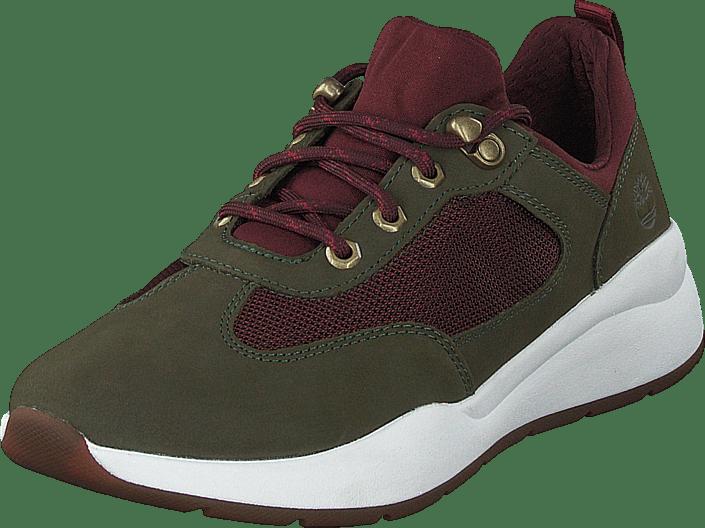 Timberland - Boroughs Low Sneaker Hkr Dark Green Nubuck