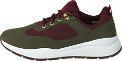 Boroughs Low Sneaker Hkr Dark Green Nubuck