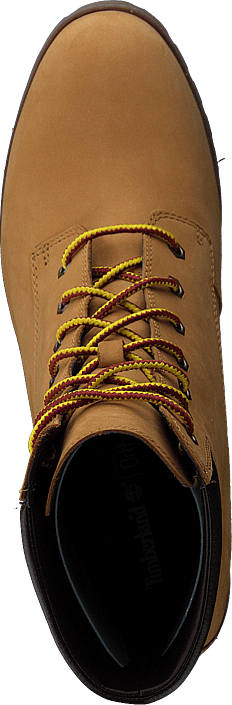 Allington 6in Lace Up Wheat Nubuck