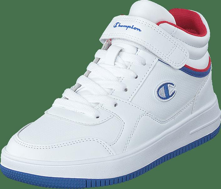 Champion - Mid Cut Shoe Rebound Vintage M White