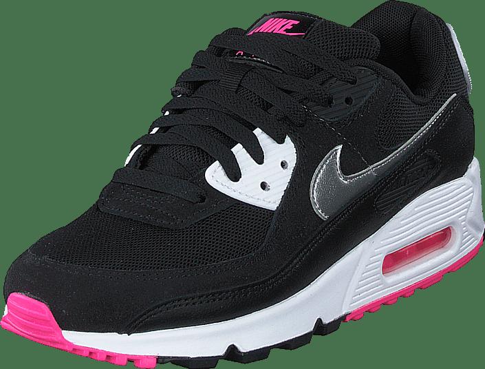 Nike - Wmns Air Max 90 J1 Black/mtlc Silver-white-pink