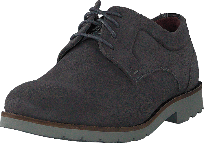 Rockport - Sr2 Plain Toe Steel Grey Sde