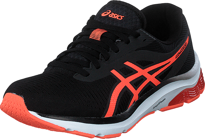 Asics - Gel-pulse 12 Black/flash Coral