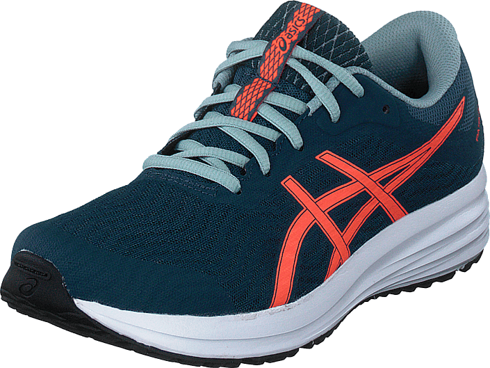 Asics - Patriot 12 Gs Magnetic Blue/sunrise Red