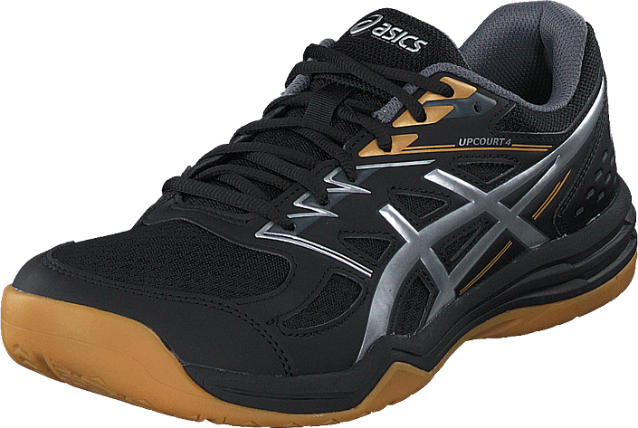 Asics - Upcourt 4 Black/pure Silver