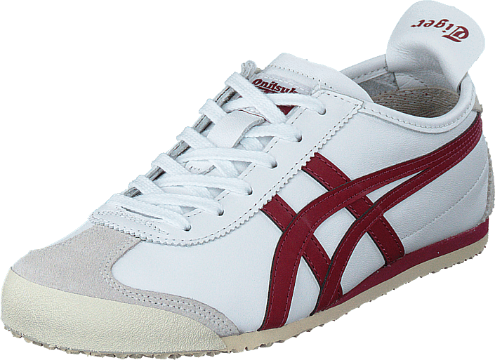 Asics - Mexico 66 White/burgundy