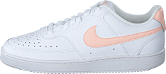 Wmns Court Vision Low White/washed Coral
