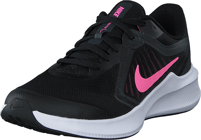 Nike - Downshifter 10 Gs Black/pink Glow-anthracite-whi
