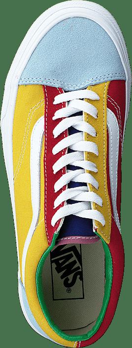 Vans Ua Style 36 (sunshine) Multi/tr Wht Chaussures Homme