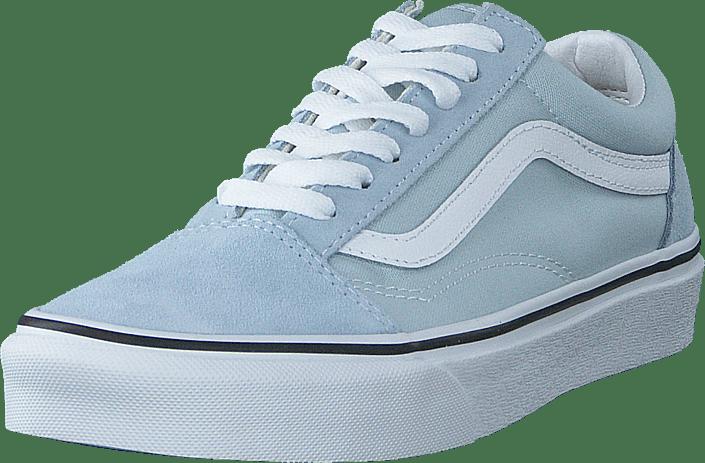 Ua Old Skool Baby Blue/true White