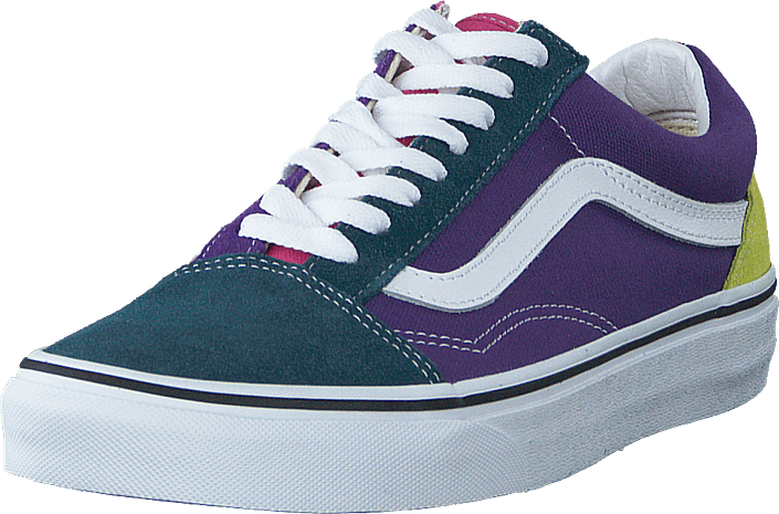 Vans - Ua Old Skool Fuchsia Purple/multi/true Wht