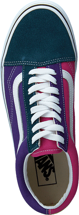 Kjøp Vans Ua Old Skool Fuchsia Purple/multi/true Wht Sko Online