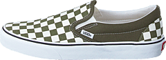 Ua Classic Slip-on (checkerboard) Grape Leaf/wht