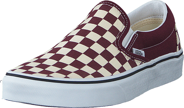 Vans - Ua Classic Slip-on (checkerboard) Port Royale/wht