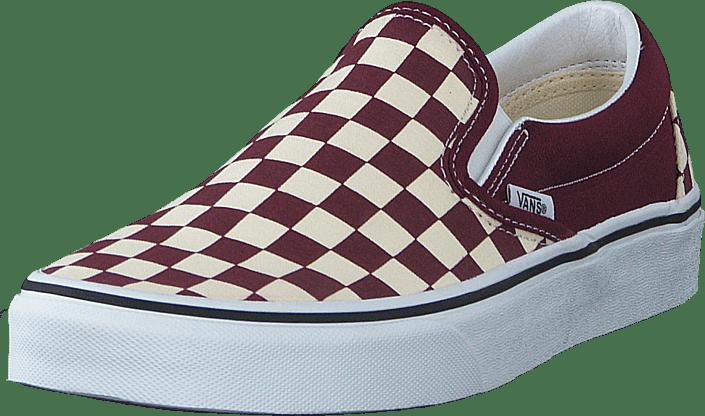 Vans - Ua Classic Slip-on (checkerboard) Port Royale/wht