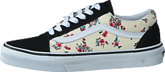 Ua Old Skool (ditsy Floral) Classic White/t