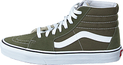 Ua Sk8-hi Grape Leaf/true White