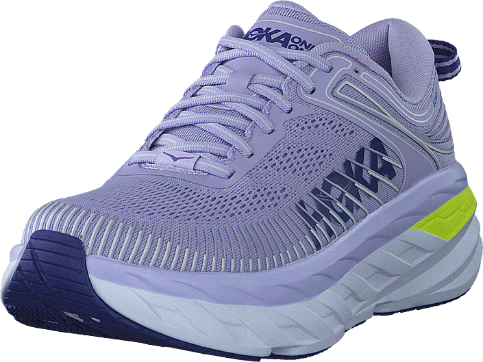 Hoka One One - W Bondi 7 Purple Heather/clematis Blue