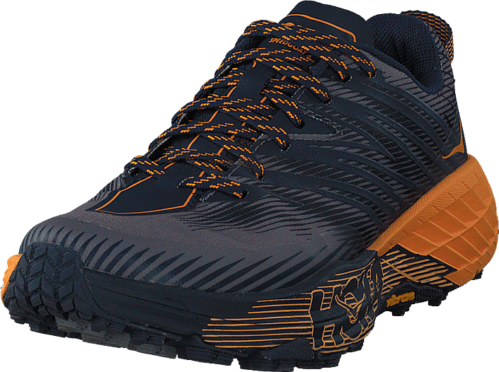 Hoka One One - M Speedgoat 4 Black Iris/bright Marigold