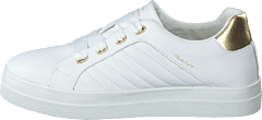 Avona Bright White/gold