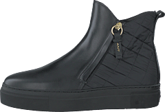 Vanna Mid Zip Boot Black