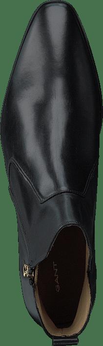 Isla Mid Zip Boot Black