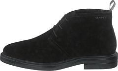 Kyree Mid Lace Boot Black