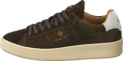 Leville Cupsole Low Dark Olive