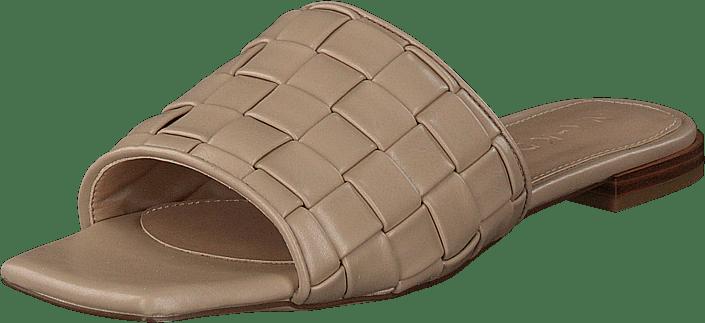 NA-KD - Braided Flats Beige