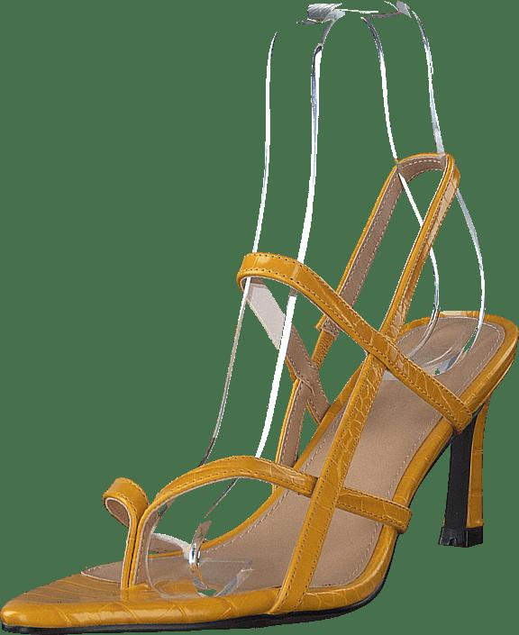 NA-KD - Flippi Strap Heels Yellow