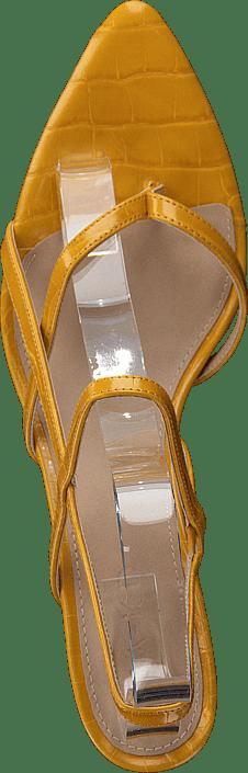 NA-KD Flippi Strap Heels Yellow 154879349