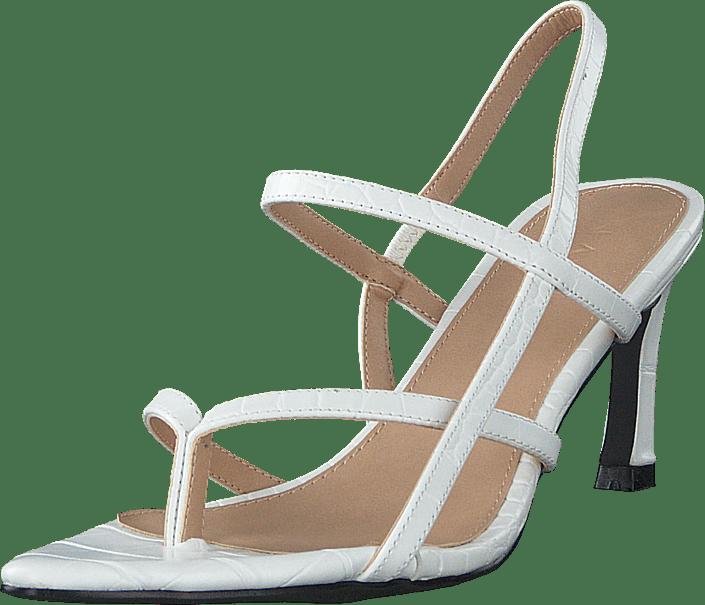 NA-KD - Flippi Strap Heels Offwhite