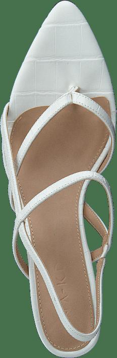 Flippi Strap Heels Offwhite