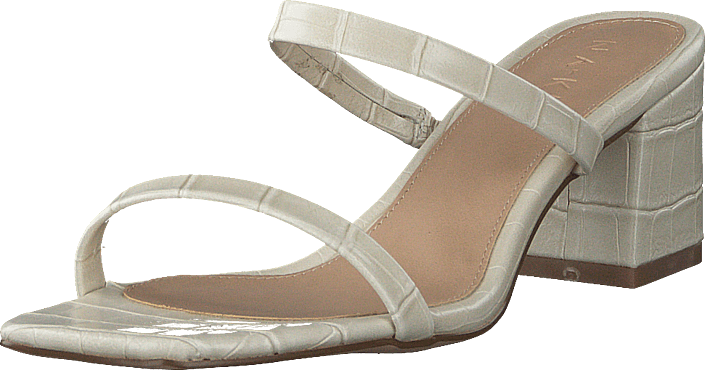 Croc Squared Strap Sandals Offwhite