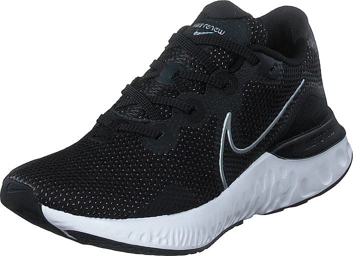 Nike - Renew Run Black/white/dark Smoke Grey