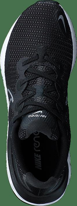 Kjøp Nike Renew Run Black/white/dark Smoke Grey Sko Online