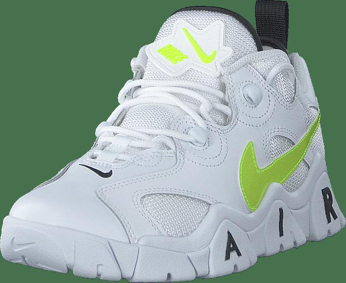 Nike - AirBarrageLow(GS) White/Black-Volt