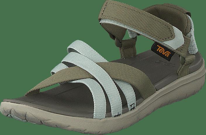 Teva - Sanborn Sandal Burnt Olive/seafoam